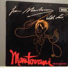 MANTOVANI and his Orchestra - From MANTOVANI with Love(1971/DECCA/RFG) - Vinil - Muzica Clasica decca classics