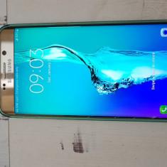 Vand Samsung S6 edge PLUS - Telefon Samsung, Auriu, 32GB, Neblocat, Single SIM