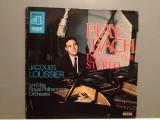 Jaques Loussier Play BACH (1976/DECCA/RFG)- Vinil/RAR/Phase 4 Stereo Chanel, decca classics