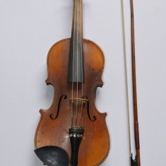 Vioara austriaca veche ANTONIUS BRAUN autentica din 1924