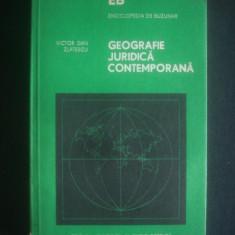 Victor Dan Zlatescu - Geografie juridica contemporana, Alta editura