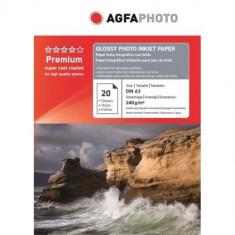 Hartie foto A3 lucioasa 240g Agfa- pachet 20 de coli - Hartie foto imprimanta