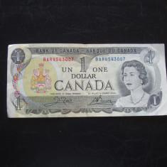 JN. 1 dollar 1973 Canada - bancnota america