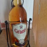 Whisky grants 3 l cumpărat în 2005 din shop original