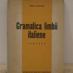 GRAMATICA LIMBII ITALIENE-DESPINA MLADOVEANU.SINTAXA