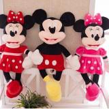 Set Minnie si Mickey Mouse plus 55cm - Jucarii plus Disney