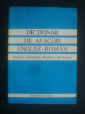 Dictionar de afaceri englez-roman - English-romanian business dictionary