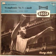 BEETHOVEN - SYMPHONY no 5 - Georg Solti (1968/DECCA/RFG) - Vinil/Impecabil(NM) - Muzica Clasica decca classics