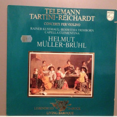 TELEMANN/TARTINI - CONCERTS cu R.KUSSMAUL(1968/PHILIPS/RFG) - Vinil/IMPECABIL - Muzica Clasica universal records