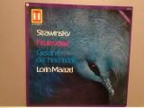 STRAWINSKY -L'Oiseau de Feu/Chant du.. (1958/Heliodor/RFG) - Vinil/Impecabil(NM), universal records