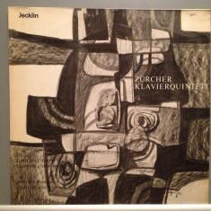 DVORAK/BOCCHERINI - PIANO QUINTETT(1982/JECKLIN/SWISS)- Vinil/Vinyl/Impecabil - Muzica Clasica Altele