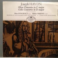 HAYDN - OBOE & CELLO CONCERTO (1979/HUNGAROTON REC) - Vinil/Impecabil(NM) - Muzica Clasica Altele