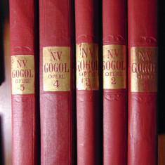 Opere, vol 1, 2, 3, 4, 5 - N.V.Gogol (Cartea Rusa, 1954-1958)