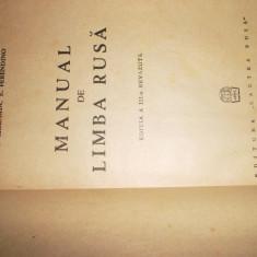 Manual De Limba Rusa 286pagini, Ilia, Tetlin, Volnina, Bulah, Ceornaia