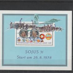 Cosmos Soiuz 31 DDR., Nestampilat