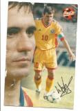 @carte postala(ilustrata)- HAGI- autograf