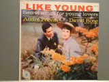 Andre Previn - Secret Songs For Young Lovers (1955/MGM/USA)- Vinil/RAR/Impecabil, emi records