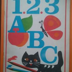 1, 2, 3, A, B, C - Carte de colorat / Iorgos Iliopolos / R4P2F