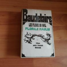 FLORILE RAULUI-LES FLEURS DU MAL--BAUDELAIRE - Carte poezie