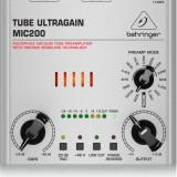 Preamplificator de microfon/chitara, cu lampa, Behringer Tube Ultragain MIC200