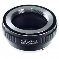 Kent Faith M42-Nikon 1 adaptor montura M42 la Nikon 1 (AI 1) - Inel adaptor obiectiv foto