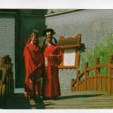 HONG KONG DINASTIA SUNG PORT POPULAR CARTE POSTALA FRANCATA 1988, Circulata, Printata