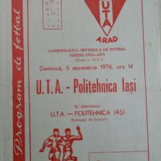 Program          UTA   -  Poli  iasi