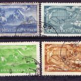 Timbre RUSIA 1943 = ANIV. 200 ANI MOARTEA LUI VITUS BERING, Stampilat