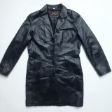Palton piele naturala Rhythms Quality Leather; marime 42, vezi dimensiuni;ca nou