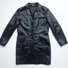 Palton piele naturala Rhythms Quality Leather; marime 42, vezi dimensiuni;ca nou - Palton dama, Culoare: Din imagine