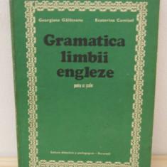 GRAMATICA LIMBII ENGLEZE-GEORGIANA GALATEANU