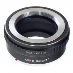 Kent Faith M42-EOS M adaptor montura M42 la EOS M - Inel adaptor obiectiv foto
