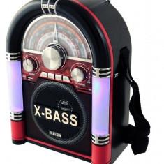 Radio retro tonomat cu mp3 cu usb sd - Aparat radio Waxiba, 0-40 W