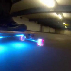 Longboard cu LED Nou - Skateboard Nespecificat, Copii