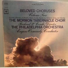 BELOVED CHORUSES:Handel, Bach, Franck, Beethoven, Grieg...(1966/CBS/USA) - Vinil - Muzica Clasica Columbia