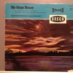 J.STRAUSS - THE BLUE DANUBE - Wiener Philharmonic Orch.(1978/DECCA/RFG) - Vinil, decca classics