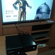 Pachet Xbox One Microsoft 1 TB, kinect, 27 jocuri, 1 maneta