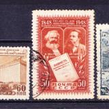 Timbre RUSIA 1948 = LOT DIVERSE, Stampilat