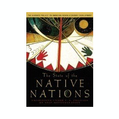 The State of the Native Nations: Conditions Under U.S. Policies of Self-Determination - Carte in engleza