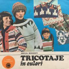 TRICOTAJE in CULORI - Emilia Moisescu - Carte design vestimentar