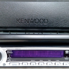 Radio - CD - Mp3 KENWOOD 4 X 50W - Impecabil - CD Player MP3 auto