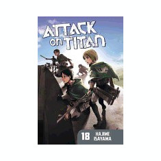 Attack on Titan 18 - Carte in engleza