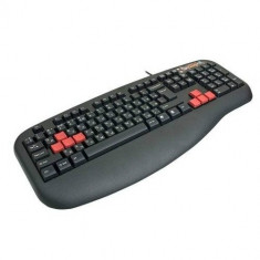 Tastatura A4TECH, model: G600, layout: US, NEGRU, PS/2