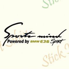 Sports Mind By BMW E36_Tuning Auto_Cod: CST-577_Dim: 25 cm. x 9.2 cm.
