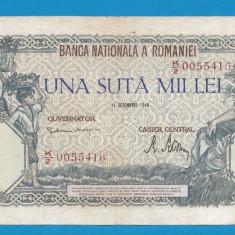 100000 lei 1946 21 Octombrie 13 - Bancnota romaneasca