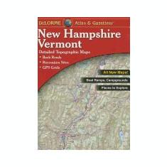 Delorme New Hampshire Vermont Atlas & Gazetteer - Carte in engleza