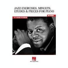 Oscar Peterson - Jazz Exercises, Minuets, Etudes and Pieces for Piano - Carte in engleza