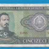 50 lei 1966 1 - Bancnota romaneasca