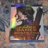 Film - The Hunger Games: The Complete Collection [4 Blu Ray Discs ] Import UK - Film SF lionsgate, Engleza