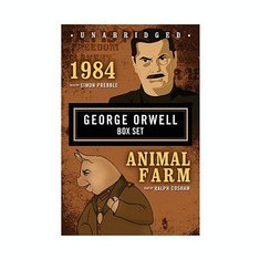 1984/Animal Farm: George Orwell Boxed Set - Carte in engleza